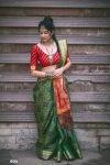 Beautiful Banarasi patola saree