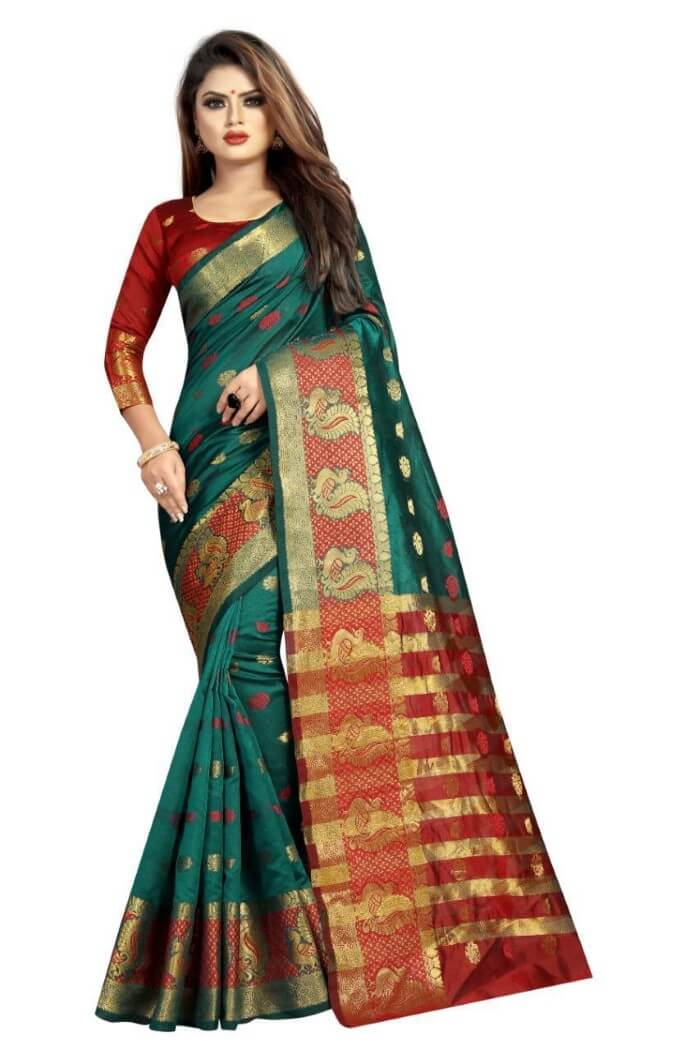 Pure silk cotton sarees