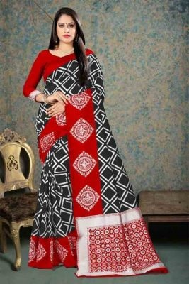 Fantastic Lichi Silk Saree 1