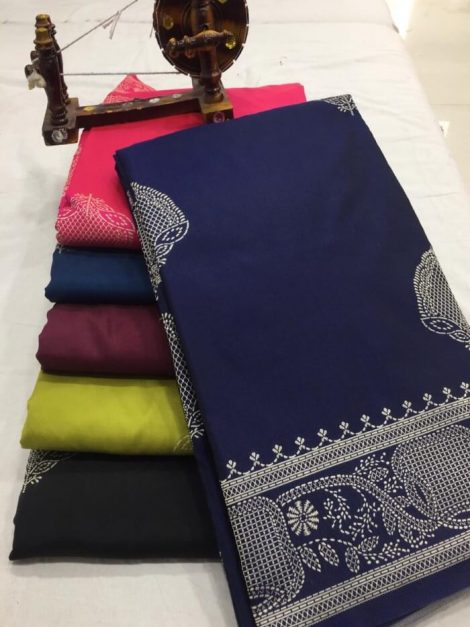 light weight silk saree 1