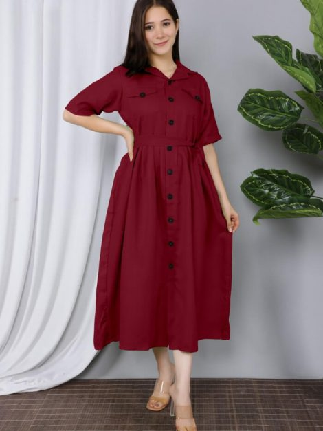 Stylish Western Midi Gown for women-in05e